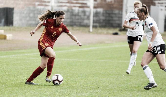 Alemania 0-0 España: sin goles no hay liderato para la sub-19