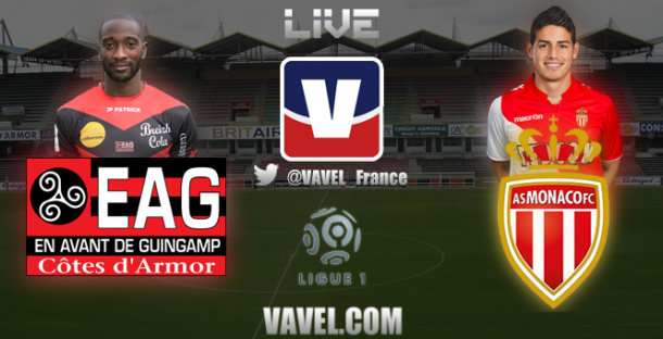 Live Guingamp - Monaco, le match en direct