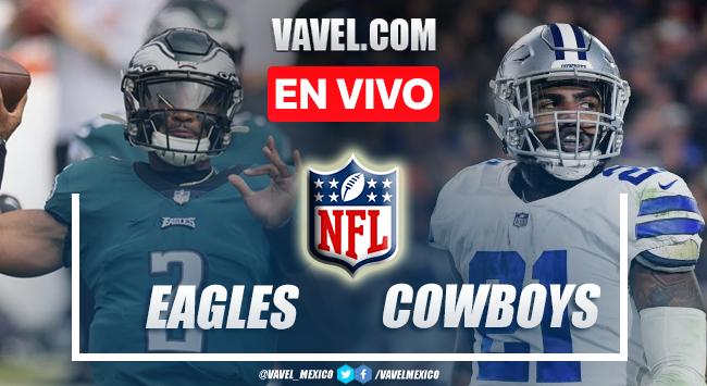Resumen y Touchdowns del Eagles 21-41 Cowboys en la NFL 2021