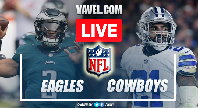 Touchdowns and Highlights of Eagles 21-41 Cowboys on NFL 2021