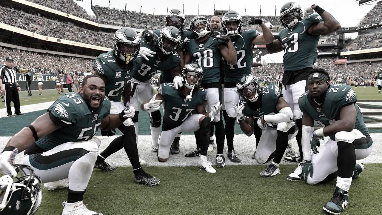 La defensa de los Eagles comanda la victoria ante los Jets