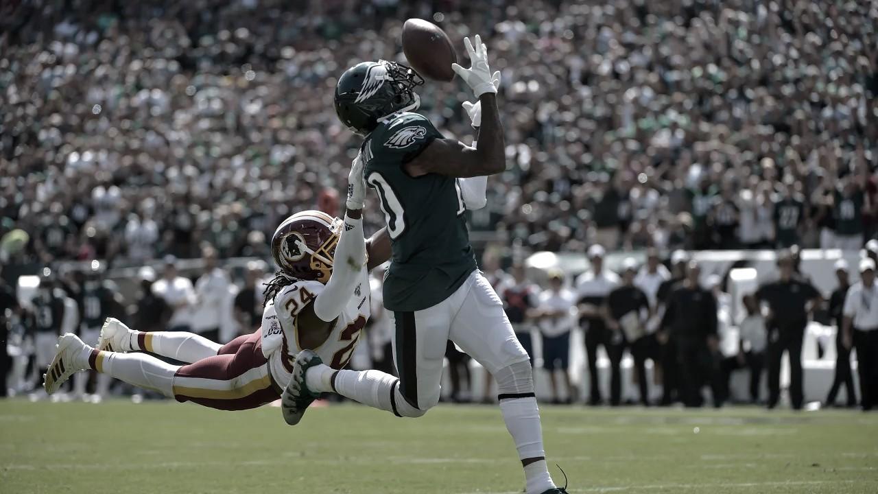 Remontada Eagle en un disputado encuentro frente a los Redskins
