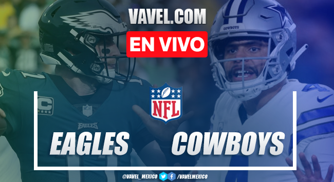 Philadelphia Eagles vs Dallas Cowboys en vivo cómo ver transmisión TV online en NFL 2019 (0-0)
