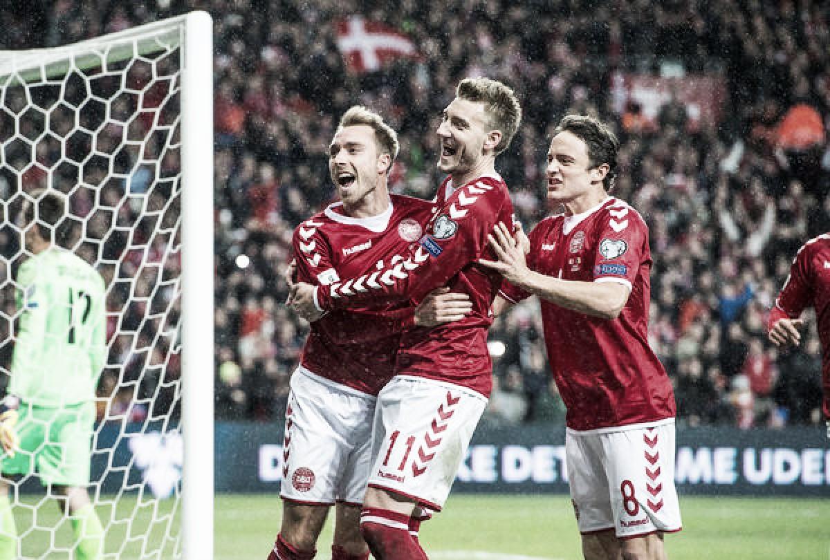 Com veteranos e três surpresas, Dinamarca divulga a lista dos 35 relacionados para a Copa