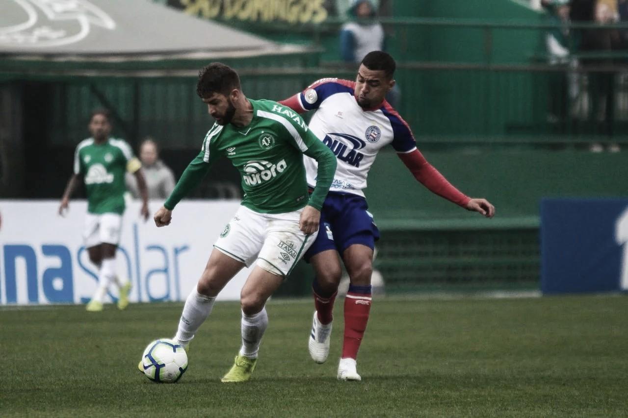 Pouca inspiração técnica: Chapecoense e Bahia empatam em Chapecó