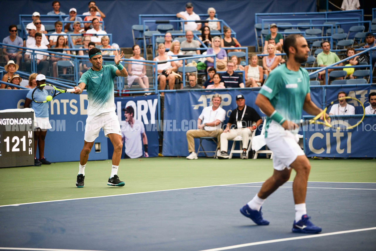 Citi Open: Cabal/Farah escape Kyrgios/Tsitsipas threat and other day one action