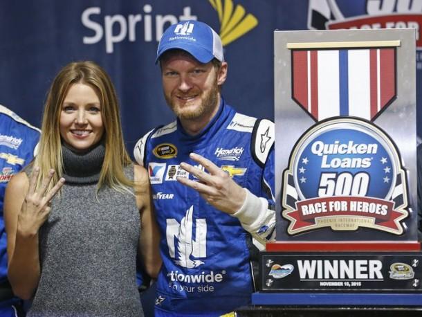 NASCAR Sprint Cup: Dale Earnhardt Jr. Victorious In Phoenix