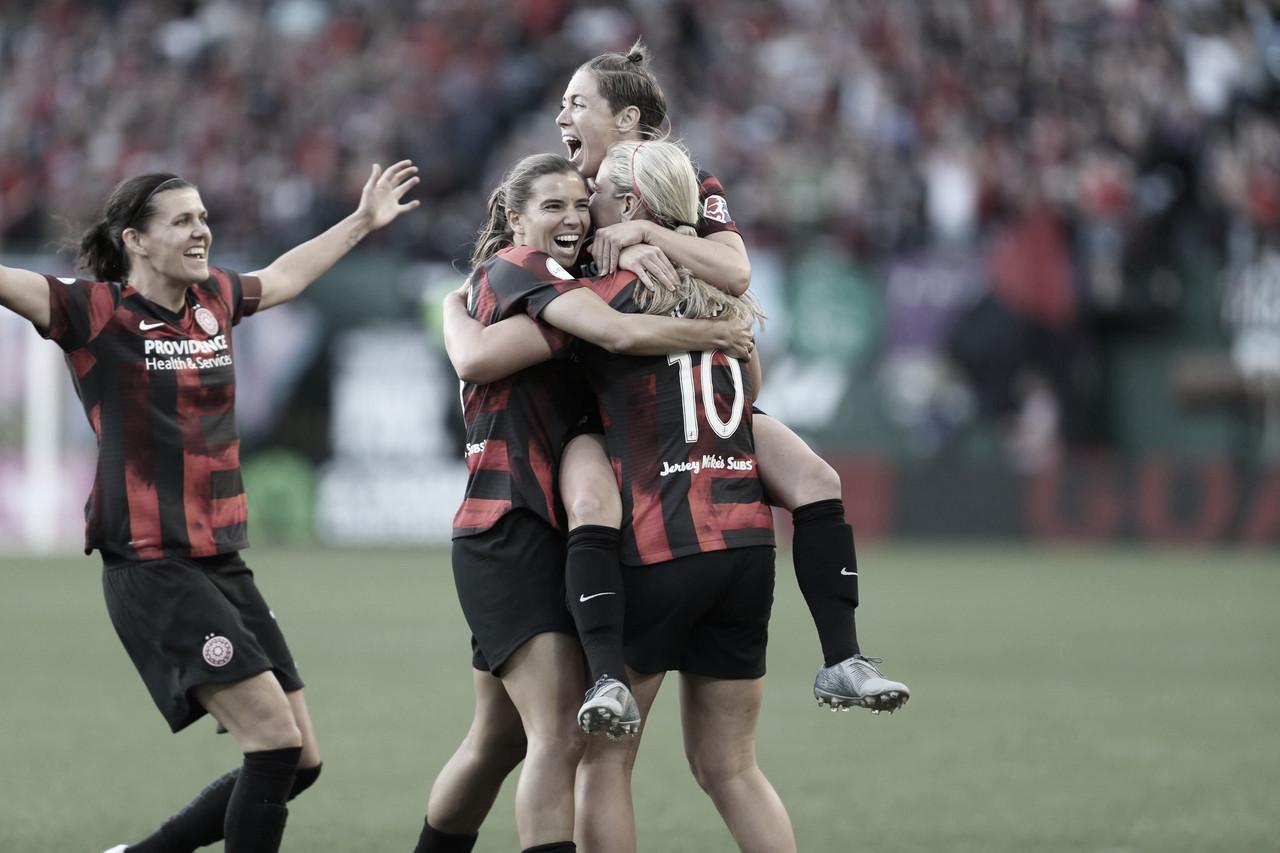 Portland Thorns FC dominate in 5-0 home win over the Houston Dash