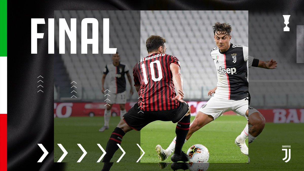 La Juventus vola in finale di Coppa Italia