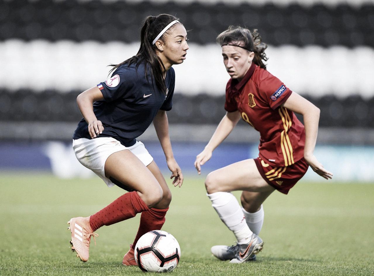 Francia 3-1 España: las 'reinas' de la sub-19 caen cruelmente en semis