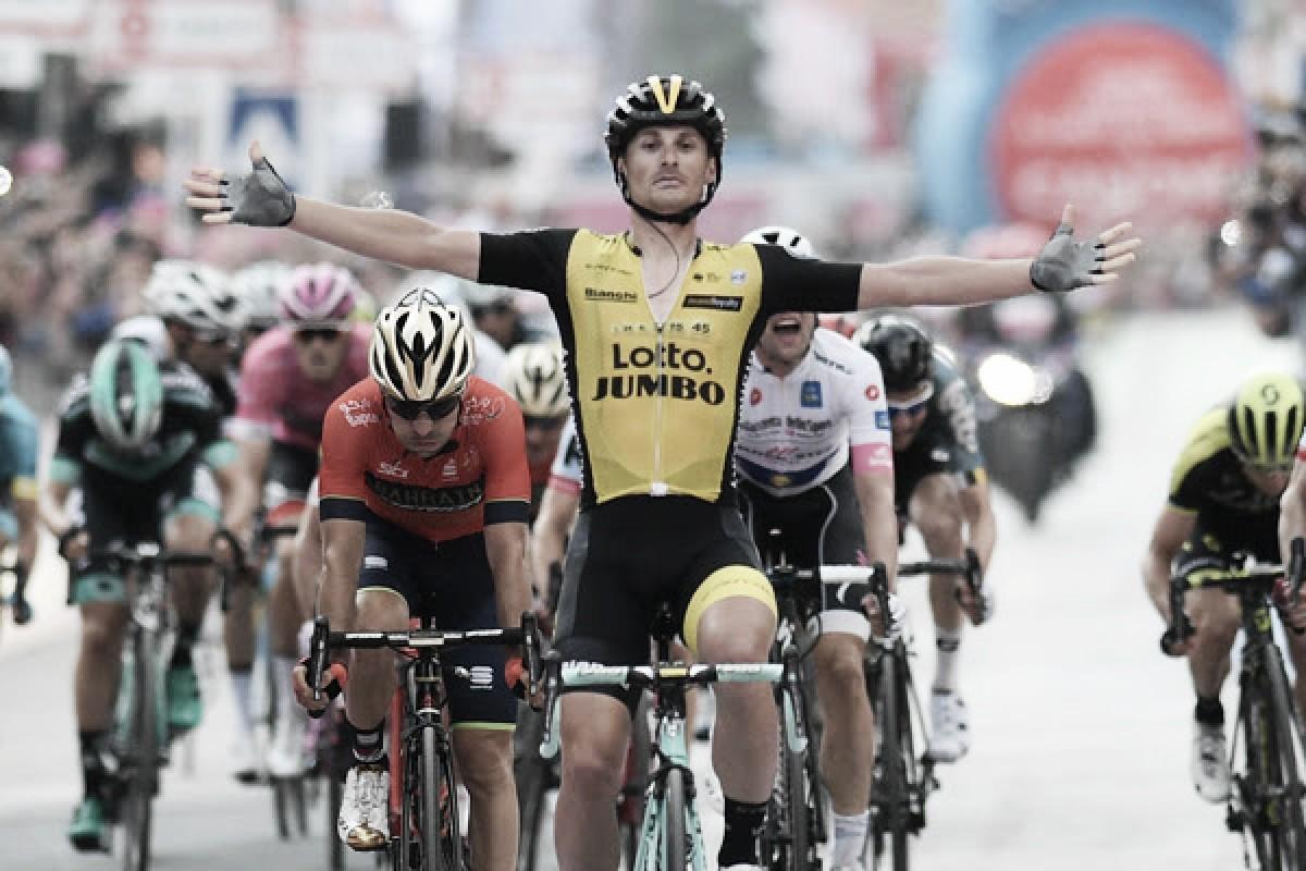 Giro d'Italia, allungo vincente di Battaglin a Santa Ninfa
