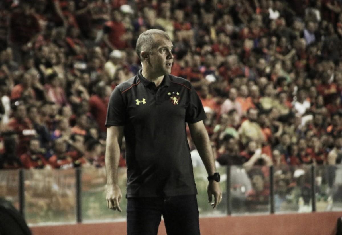 Eduardo Baptista lamenta derrota do Sport para o América-MG: ''Foi doída''