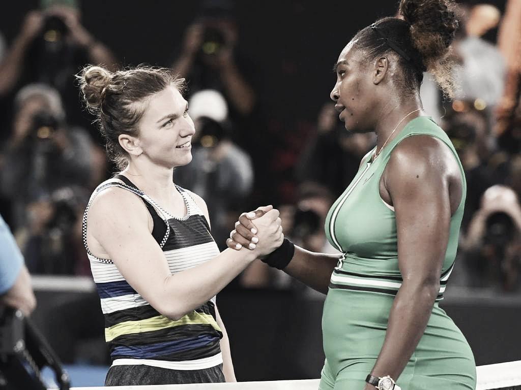 Australian Open: Serena eliminó a Halep, Naomi Osaka sigue en camino