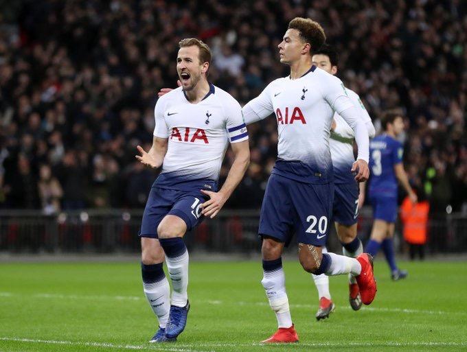 Carabao Cup - Il primo round è degli Spurs: Kane firma l'1-0 sul Chelsea nella semifinale di andata