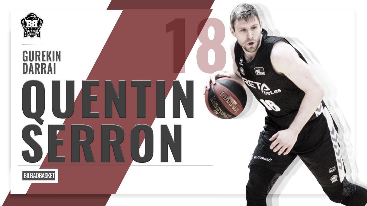 Bilbao Basket oficializa la renovación de Quentin Serron hasta 2022