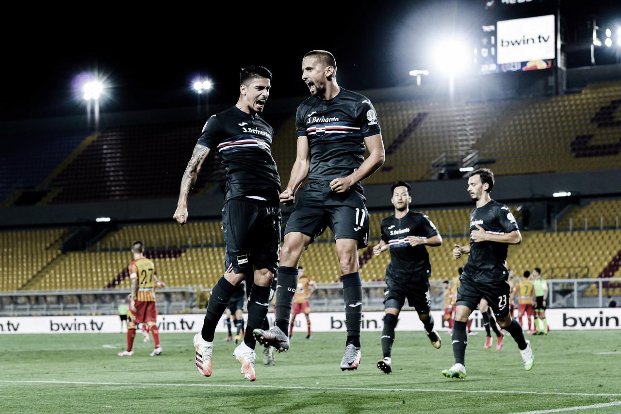 Sampdoria vence confronto direto contra Lecce e ganha sobrevida na luta contra queda