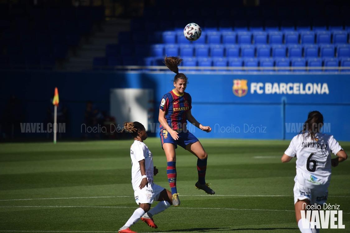Entreno y convocatoria del FC Barcelona femenino