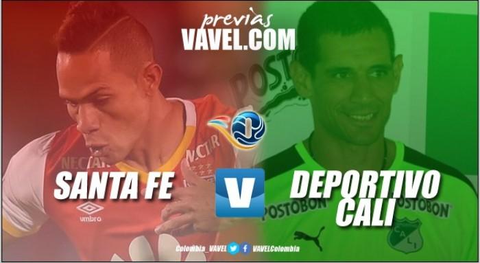 Previa Santa Fe vs. Deportivo Cali: Un duelo de Técnicos Uruguayos
