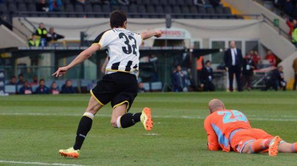 Udinese-Napoli 1-1, pareggio incolore al Friuli