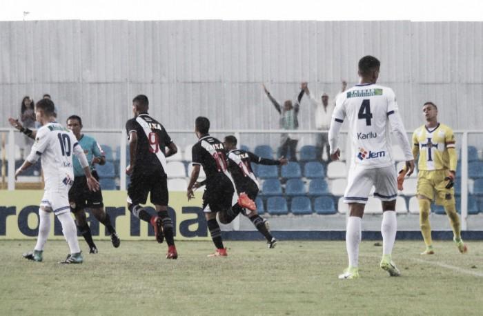 Resultado Vasco x São Bernardo pela Copa São Paulo Futebol (2-1)
