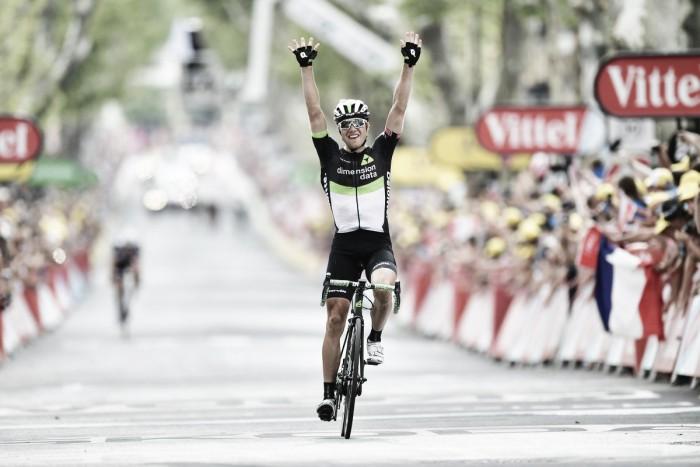 Tour de France, fuga vincente di Boasson Hagen aSalon-de-Provence