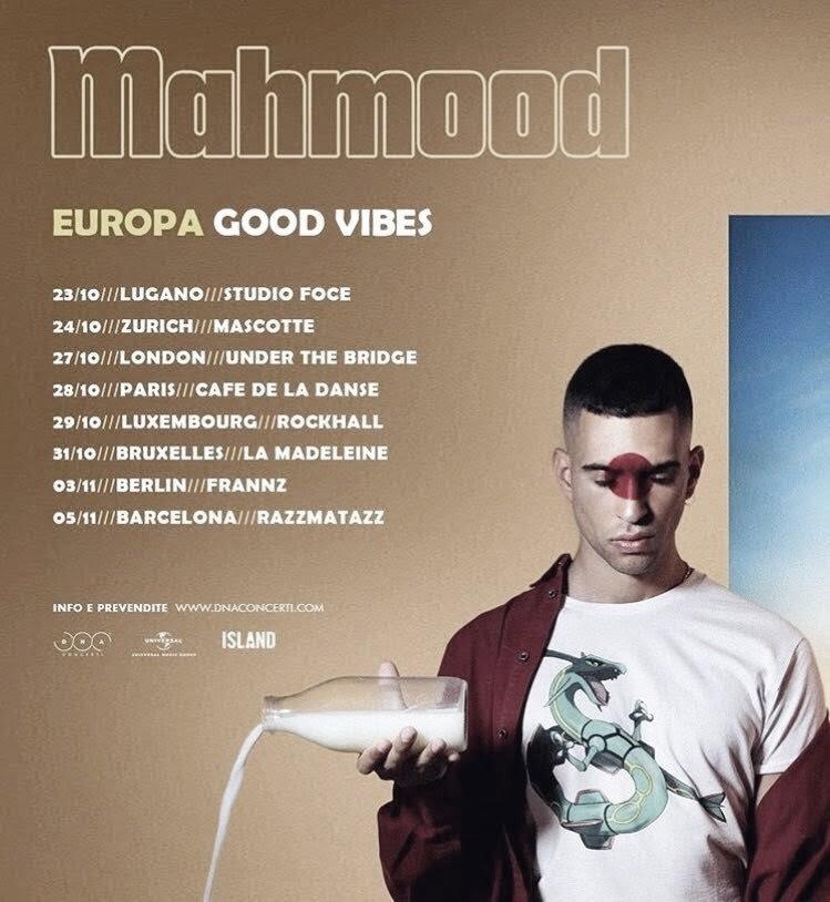 Mahmood agota entradas en Londres