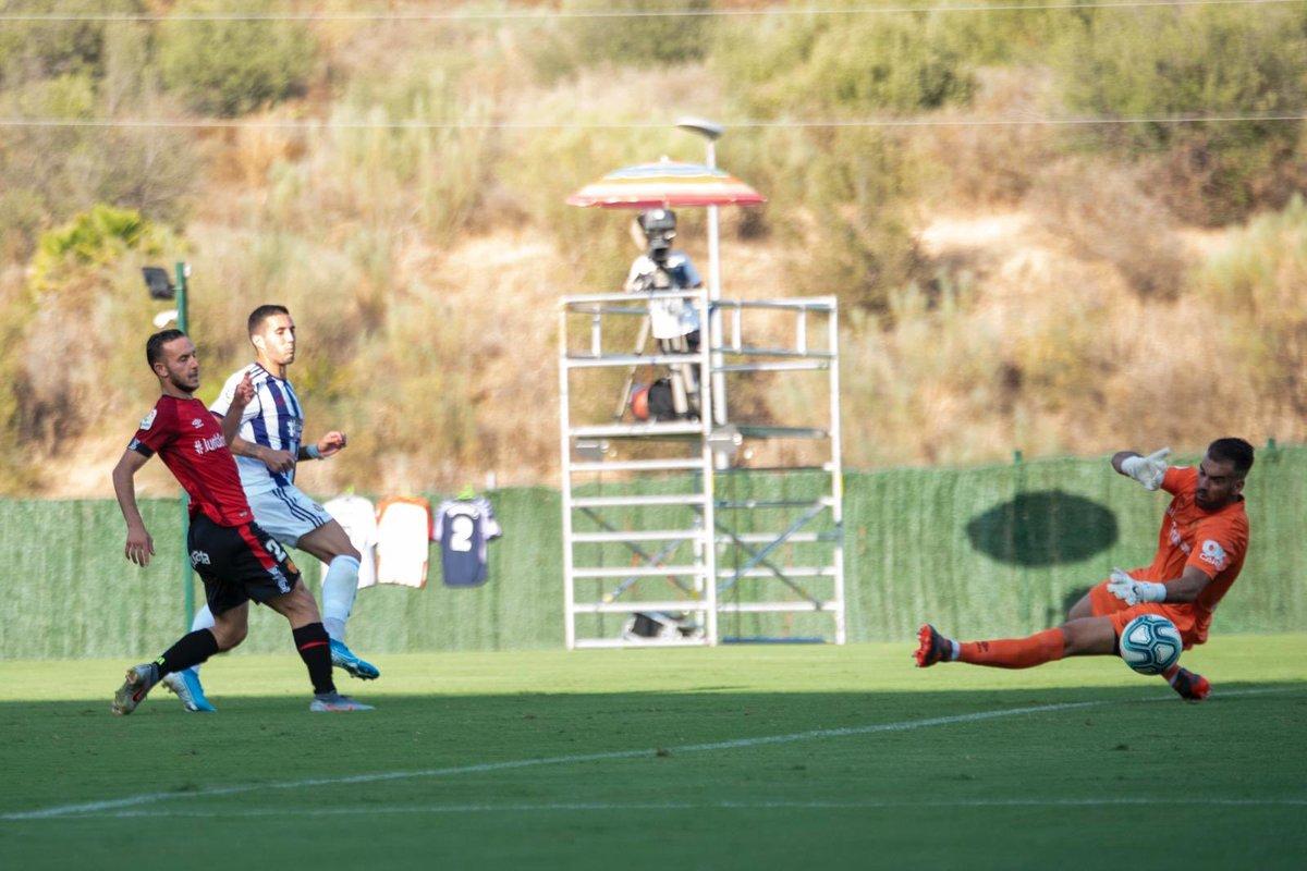 El Pucela desperdicia un 2-0 y el Mallorca empata en Marbella