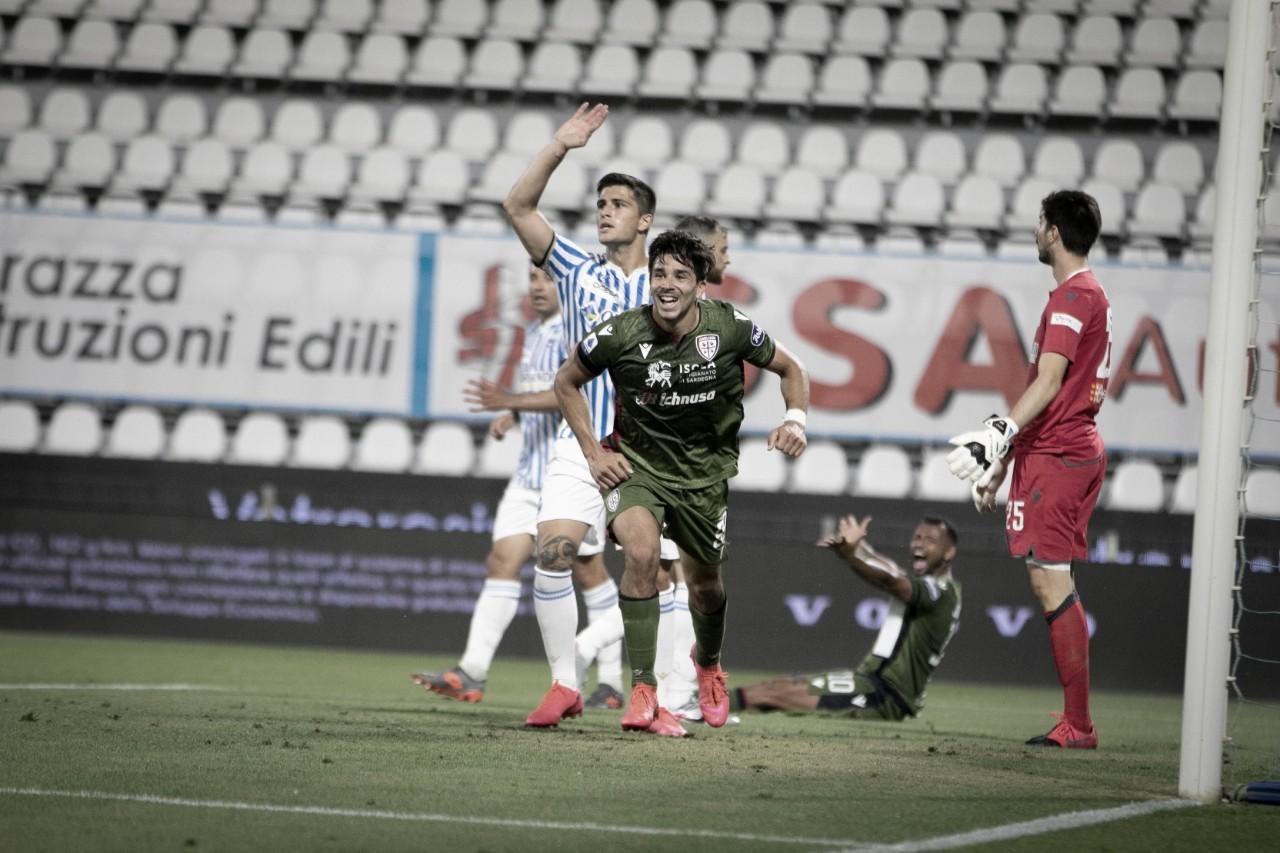 Simeone marca no fim, Cagliari bate SPAL e volta a vencer após seis meses