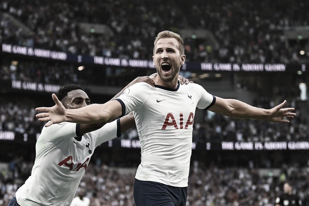 Aston Villa sai na frente, mas Kane garante vitória do Tottenham na reta final