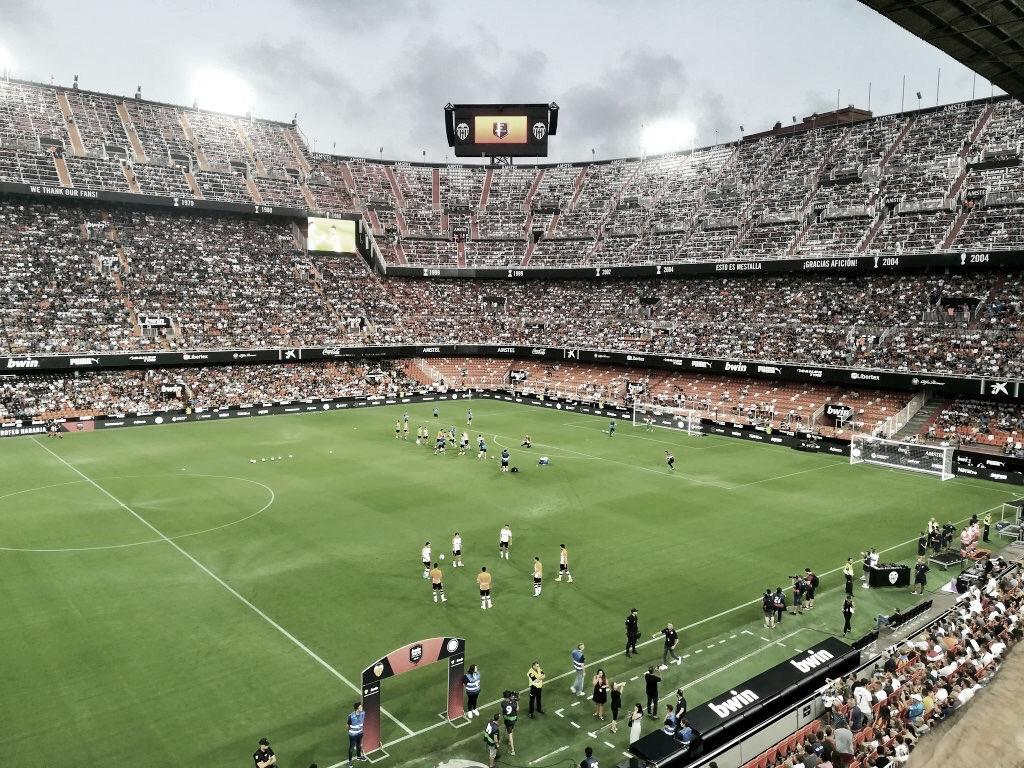 La grada joven del Valencia planea novedades de cara al Mallorca