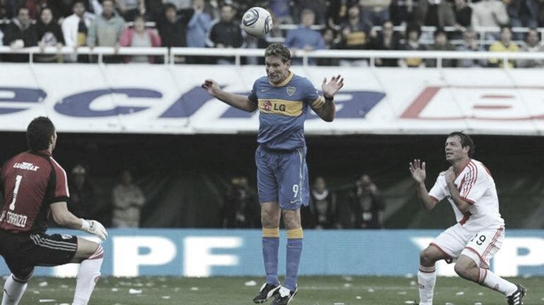 A 9 años del último gol de Palermo a River