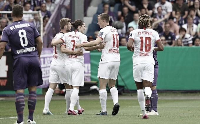 Chuva de gols marca o domingo de Copa da Alemanha