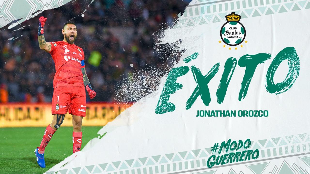 Jonathan Orozco, baja confirmada de Santos