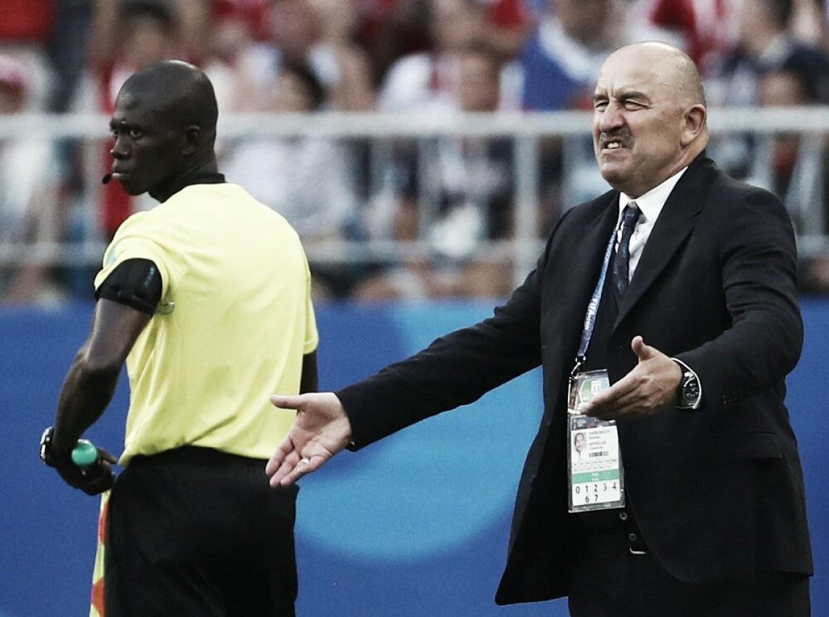 """Stanislav Chercheson lamenta derrota da Rússia e garante: """"Não vamos só sobreviver"""""""