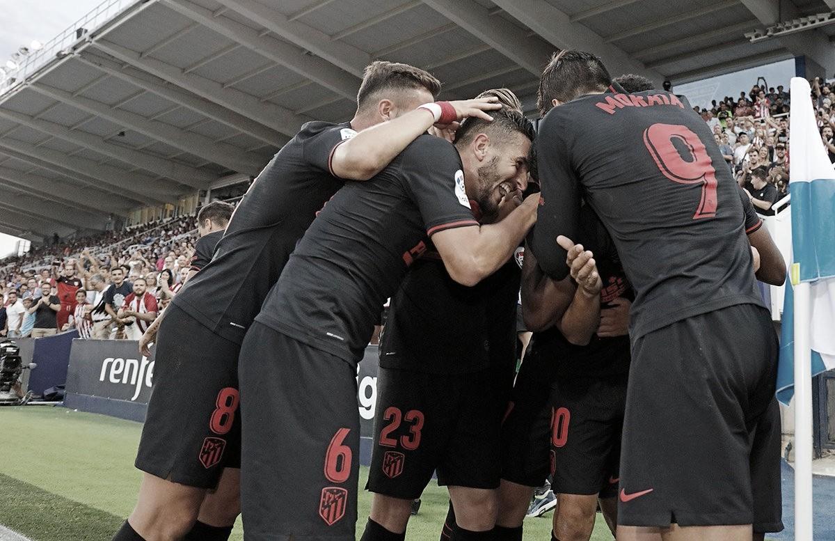 Atlético de Madrid bate Leganés e segue invicto na La Liga