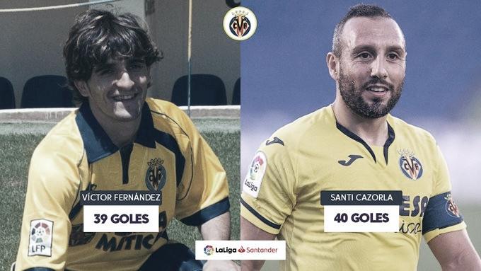 Cazorla sigue haciendo historia en el Villarreal