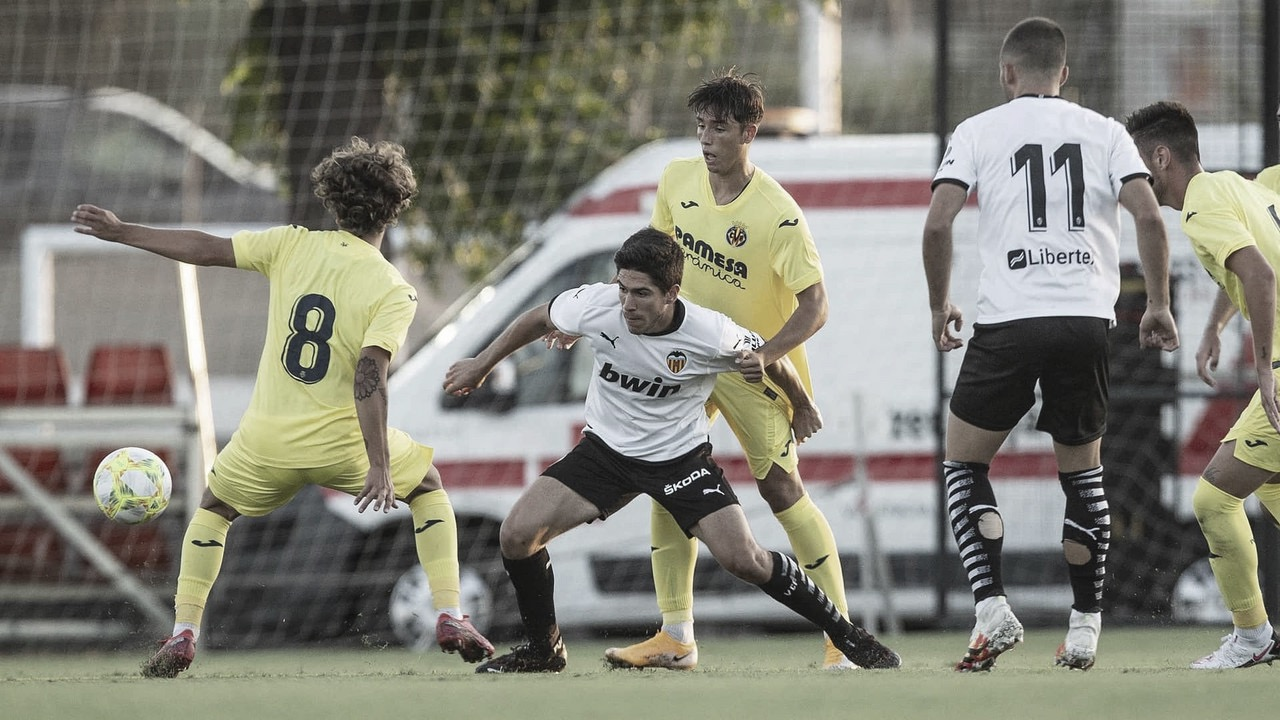 El camino de pretemporada del Valencia Mestalla
