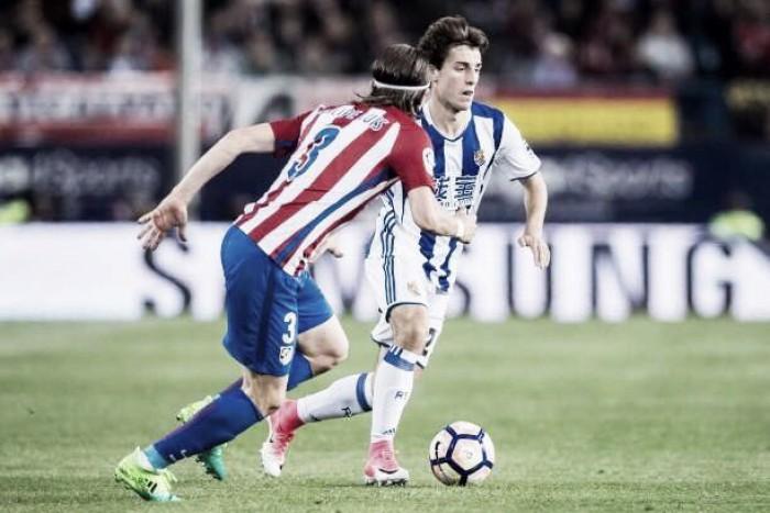 Atlético de Madrid recebe Real Sociedad em duelo pela parte de cima da tabela