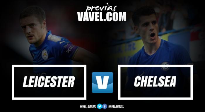 Visando crescimento na tabela, Leicester e Chelsea duelam pela Premier League