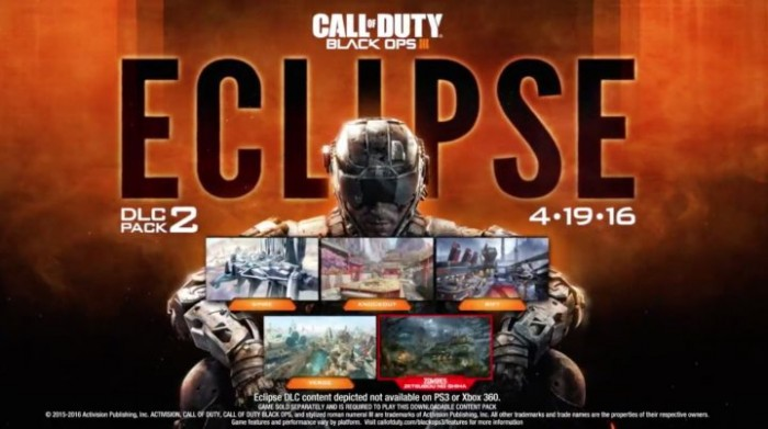 Eclipse,segundo pack de mapas del Black ops 3