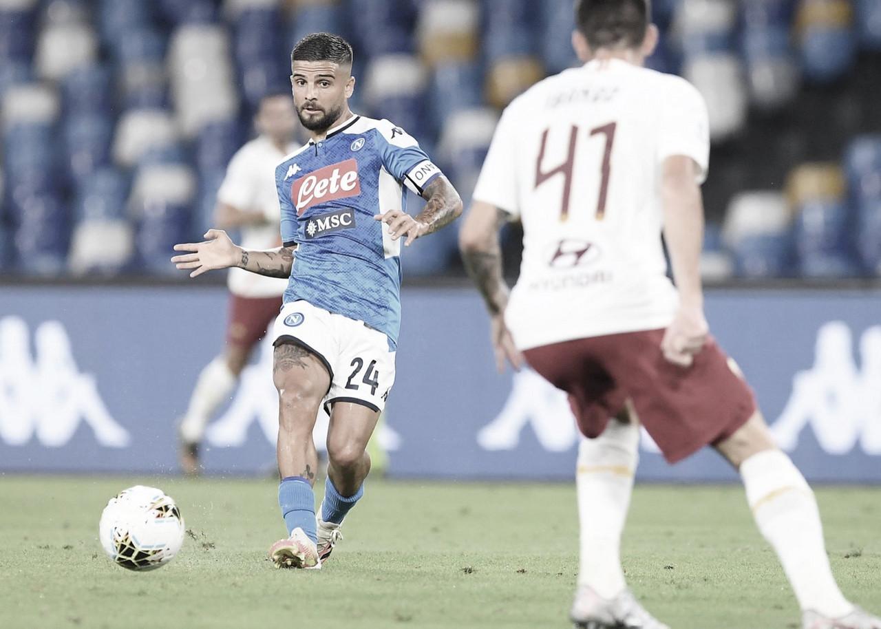 Napoli supera Roma com golaço de Insigne e se recupera no Campeonato Italiano