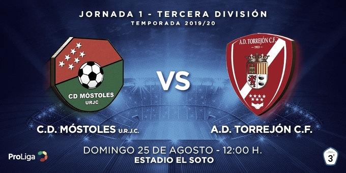 Previa CD Móstoles URJC - AD Torrejón CF: Aquí sí hay fútbol