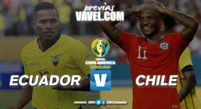 Previa Ecuador vs Chile: A una victoria de mantenerse con vida o ratificar
