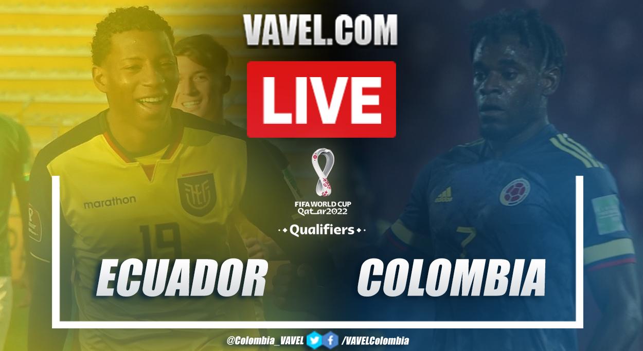 Resumen Ecuador vs Colombia (6-1) por eliminatorias: ¡Humillación en Quito!