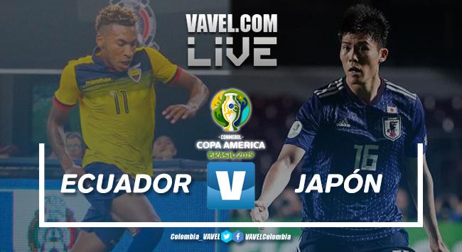 Resumen Ecuador vs Japón por la Copa América 2019 (1-1)