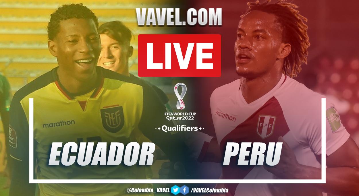 Goals and Highlights: Ecuador 1-2 Perú in Qualifiers for Qatar 2022