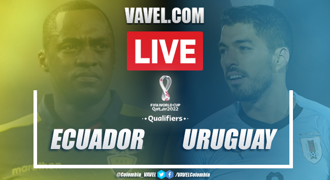 Resumen y goles Ecuador vs Uruguay (4-2)