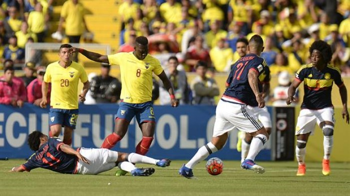 Ecuador cae en casa y se aleja del Mundial de Rusia