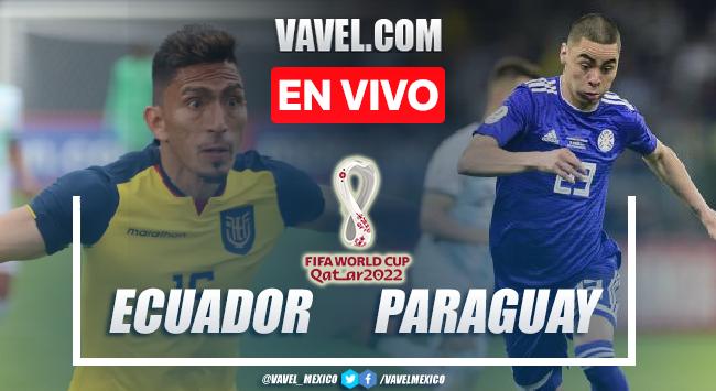 Goles y resumen del Ecuador 2-0 Paraguay en Eliminatorias Sudamericanas