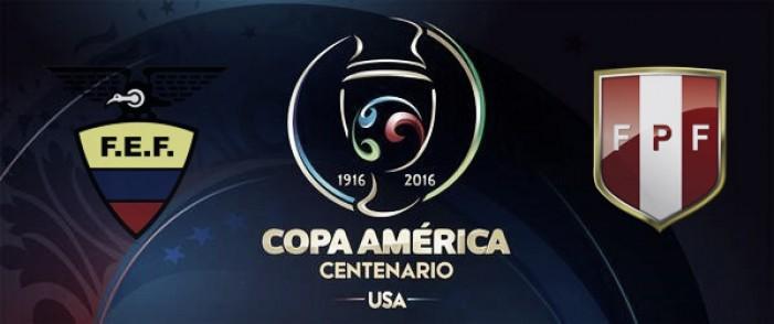 Ecuador - Perú resultado final (2-2)